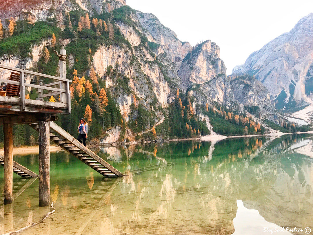 #braies #lago #italy #travel #lindo